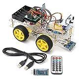 gancunsh Arduino Uno R3 Kit de Inicio con Todos los sensores, RFID y Caja de plástico, el más Completo Principiante, robótica, electrónica