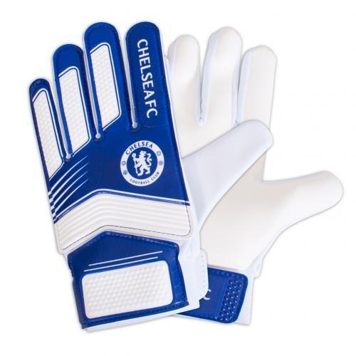 Chelsea FC Boy ch04841Spike Torwart Handschuhe, Mehrfarbig -