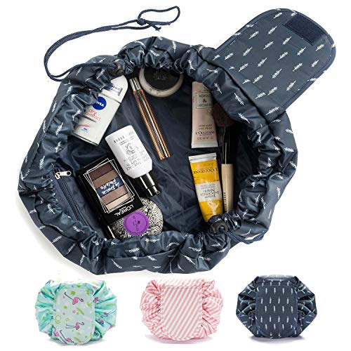 Goods & Gadgets Kosmetiktasche, Kosmetikbeutel Quick Make-Up Beutel Schmink-Tasche Kulturtasche mit Kordelzug -