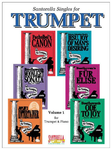 Santorella Singles for Trumpet & Piano