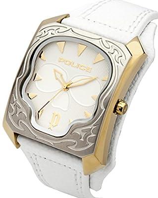 Police 14252JSGS/01 - Reloj, de color blanco de Police