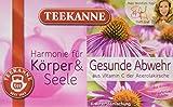 Teekanne Gesunde Abwehr Kräuterteemischung 20 Beutel, 2er Pack (2 x 40 g...