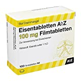 AbZ Eisentabletten 100 mg, 100 St.