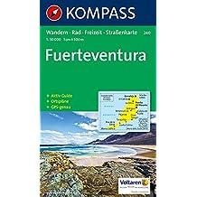 Kompass Karten, Fuerteventura (KOMPASS-Wanderkarten, Band 240)