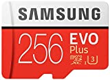 Samsung Micro SDXC 256GB Class 10 EVO Plus U3 Speicherkarte (inkl. SD Adapter, bis zu 100MB/s) medium image