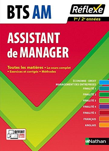 Toutes les matières Assistant de manager - BTS AM par Pascal Besson