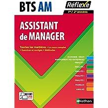 Toutes les matières Assistant de manager - BTS AM
