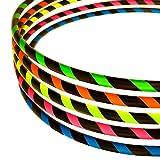 Hoopomania Anfänger Hula Hoop Reifen, Neon Pink, 95 cm