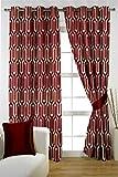 HOMEC Decorous Jacquard Single Curtain -...