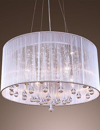 DXZMBDM® Max 40W Zeitgenössisch / Drum Kristall / Inklusive Glühbirne Galvanisierung Metall Pendelleuchten Wohnzimmer / Schlafzimmer / Esszimmer , 220-240v -