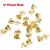 Fashlady™ 1 Buds: 20Pcs/Lot Charms Nail Design Gold - Best Reviews Guide