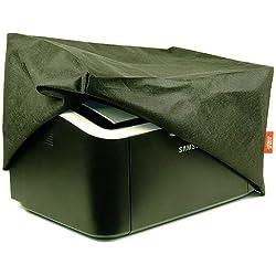 ROTRi® Housse de Protection antipoussière ajustée pour l'imprimante Canon imagePrograf Pro-1000 - Noir