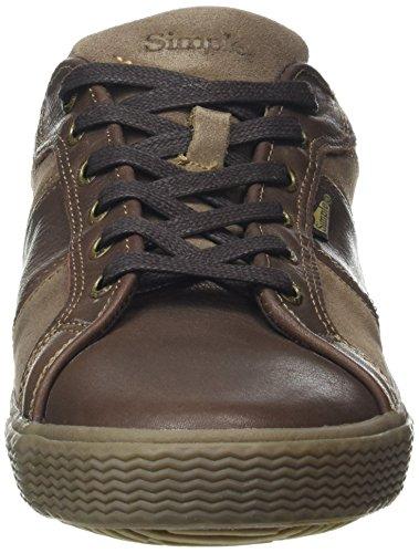 Semplice Herren Waveoff Sneaker Braun (marrone 220 Marrone 220)
