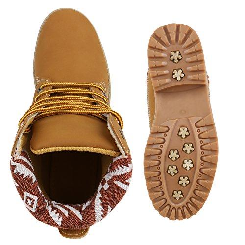 Botas Ankle Luz Do Botas Ao Ar De Trabalhador Boots Ásperas Senhoras Marrom Padrão Livre Caminhadas v45wgc