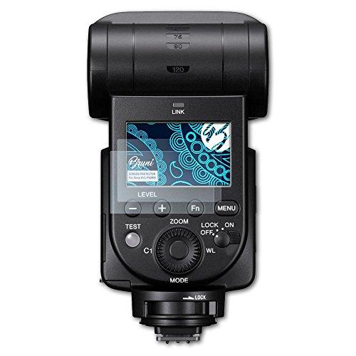 Bruni Schutzfolie für Sony HVL-F60RM Folie, glasklare Displayschutzfolie (2X) - Sony-hvl