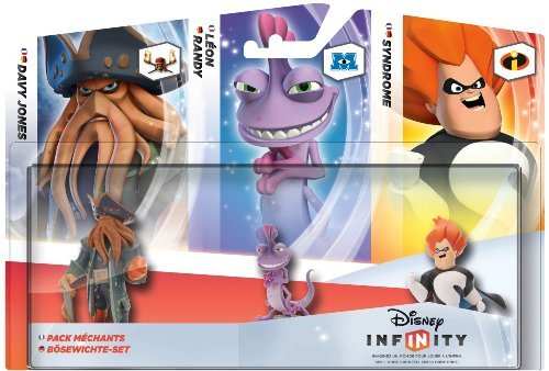 Disney Infinity 3 Character Figure Triple Pack: Davy Jones, Randy, Syndrome