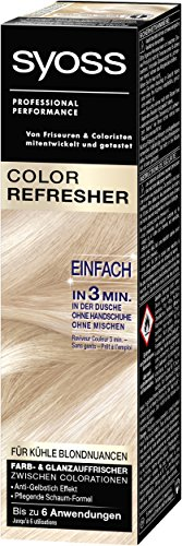 Syoss Color Refresher Schaum für kühle Blondnuancen, 3er Pack (3 x 75 ml)
