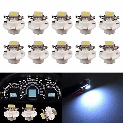 hunpta-10x-white-b84d-5050-1-smd-dash-auto-side-dash-gauge-instrument-led-lights-bulbs-white