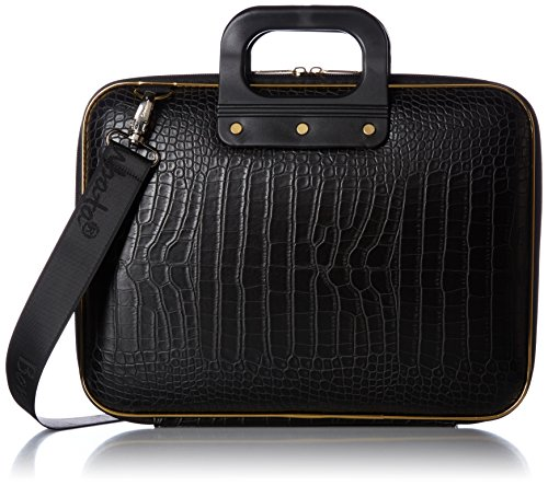 bombata-gold-cocco-33-cm-laptop-case-schwarz