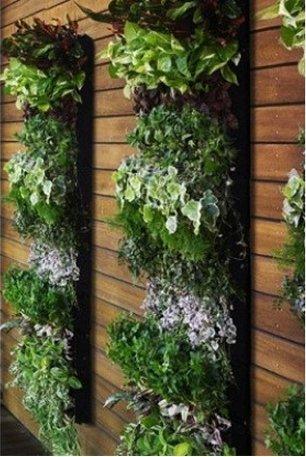 Vertikale Pflanztasche mit 7 Fächern für Garten-, Balkon- und ...