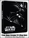 Review: Star Wars Episode IV A New Hope Steelbook Blu Ray Review [OV]