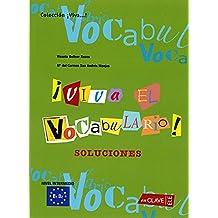 ¡Viva el Vocabulario! nivel intermedio - Soluciones: B1-B2