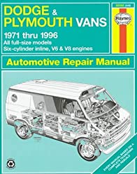 Dodge and Plymouth Vans (1971-96) Automotive Repair Manual (Haynes Automotive Repair Manuals) by P.B. Ward (1996-06-02)