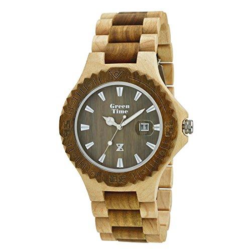 Uhr nur Zeit Herren Green Time nur Zeit Trendy Cod. zw016e