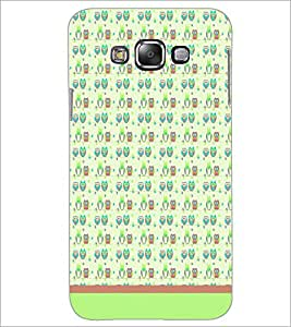 PrintDhaba Owl Pattern D-1677 Back Case Cover for SAMSUNG GALAXY GRAND 3 (Multi-Coloured)