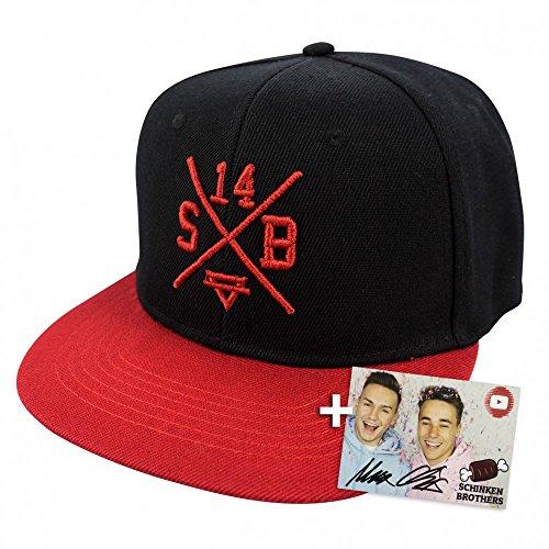 Preisvergleich Produktbild Schinken Brothers Original SB14 Cap in Schwarz aus 100% Baumwolle YouTube Merchandise by yvolve