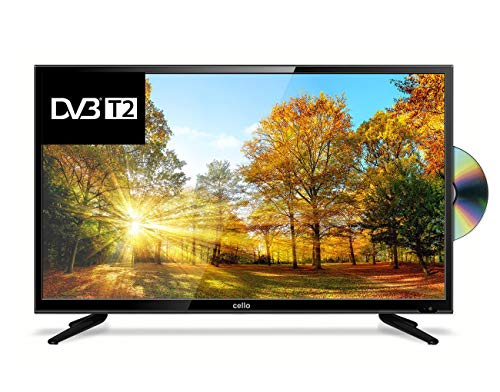 Cello C43227FT2 43� Full HD LED TV with built-in DVD Player and Freeview T2 HD � UK Made (Certified Refurbished)