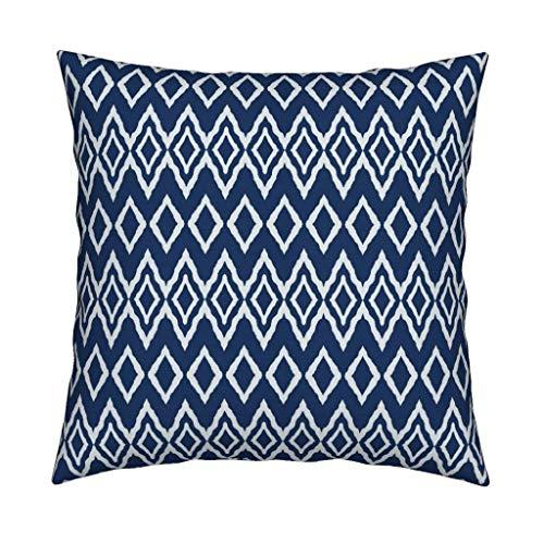 Alicert5II Deluxe Throw Pillow Diamonds by serenidipity 2O Textiles Boho 18x18 Square Throw Pillow