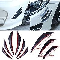 ZHUOTOP 6 piezas de protector fibra de carbono para parachoques delantero, cuerpo, alerón, carretes