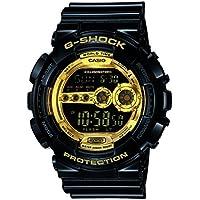 G-Shock Digital Gold Dial Men's Watch - GD-100GB-1DR (G340)