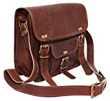 #3: pranjals house 15 inch Vintage Leather Laptop Office Briefcase Bag