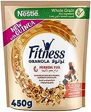 Nestle Fitness Granola with Quinoa, Almonds & Chocolate Breakfast Cereal,