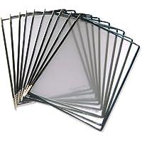 Tarifold 167656 - Portafolio de plástico A4 - Paquete de 10