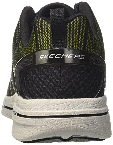 Skechers Burst 2.0-In The Mix II, Sneakers Basses Homme Noir (BKLM)