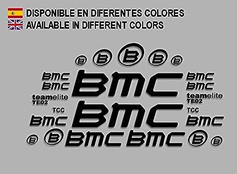 PEGATINAS BMC F167 VINILO ADESIVI DECAL AUFKLEBER MTB STICKERS BIKE NEGRO