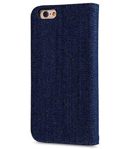 Apple iPhone 6s Plus/6 PlusMelkco Buch Style Indigo Series Hand Crafted Rüstung Bumper Case Guter Schutz, Schlank, Premium-Gefühl 1