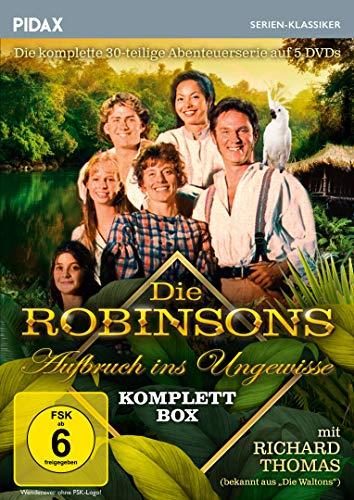 Die Robinsons - Aufbruch ins Ungewisse - Komplettbox / Die komplette 30-teilige Abenteuerserie (Pidax Serien-Klassiker)[5 DVDs]