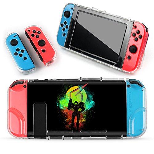 Preisvergleich Produktbild Nintendo Switch Schutzhülle Samus Metroid Prime Hardcase / Harte Schutzhülle Set für Konsole und Joy Cons
