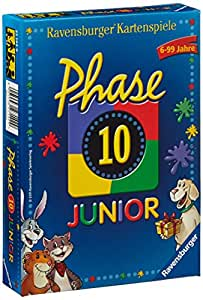 Ravensburger 27142 - Phase 10 Junior