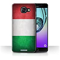 Coque de Stuff4 / Coque pour Samsung Galaxy A5 (2016) / Italie/italien Design / Drapeau Collection