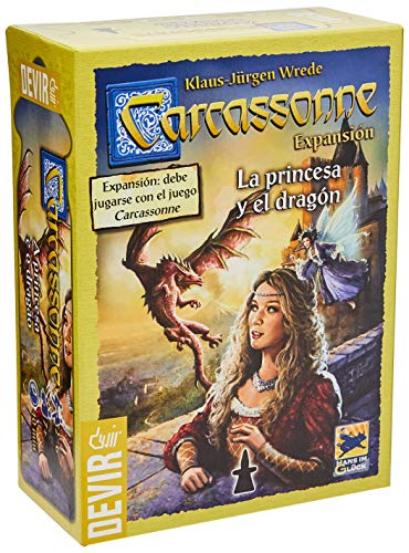 Carcassonne - La Princesa y el dragón