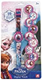 OROLOGIO DIGITALE FROZEN CON 10 COVER INTERCAMBIABILI