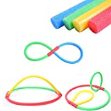 Coromose Foam Pool Noodles Flexible Colorful Solid Foam Pool Noodles Swimming Water Float 3.8 * 150cm