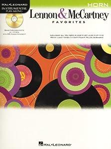 Horn Play-Along: Lennon & McCartney Favourites. Sheet Music, CD for French Horn