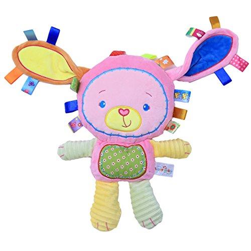 Lalang Nette Karikatur Tier Rasseln Spielzeug Baby Plüschtiere, Kleinkindspielzeug Kinderwagen, Baby Rasseln, Baby Greiflinge Plüsh Spielzeug (Kaninchen)