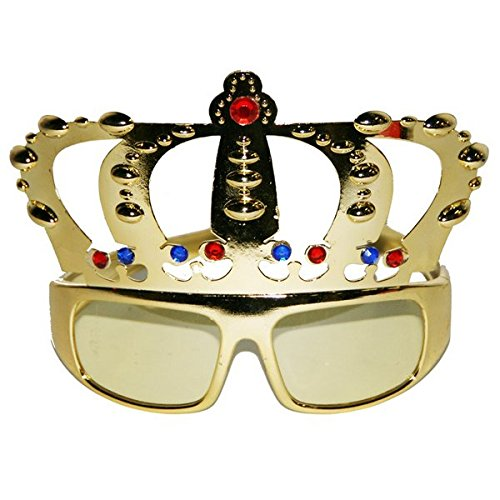 CREATIVE Fiesta Gafas Royal Crown de 18 cm